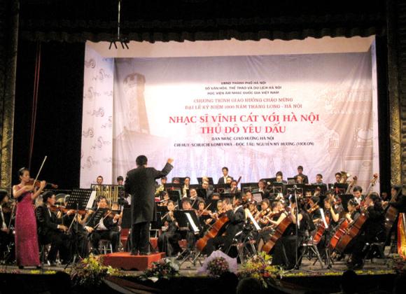 Đề cử: Nhạc sĩ Vĩnh Cát - Thể hiện tình yêu Hà Nội bằng ngôn ngữ giao hưởng