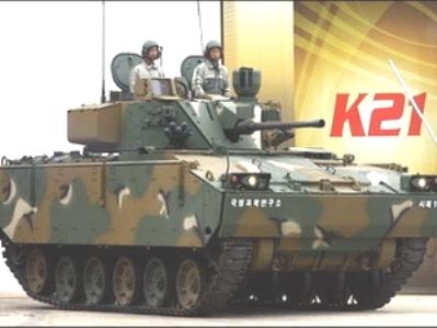 """Hongkong thu giữ xe tăng """"lậu"""" của Hàn Quốc"""