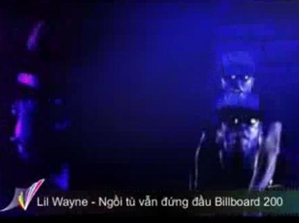 Lil Wayne đứng đầu Billboard 200 khi đang ngồi tù