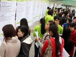 Hà Nội: Hơn 10.000 cơ hội trong ngày hội việc làm
