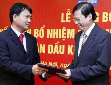 Ông Phùng Đình Thực là Chủ tịch Tập đoàn Dầu khí