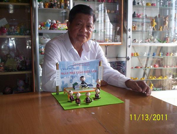 Mừng ngày Nhà giáo Việt Nam bằng tạo hình vỏ trứng
