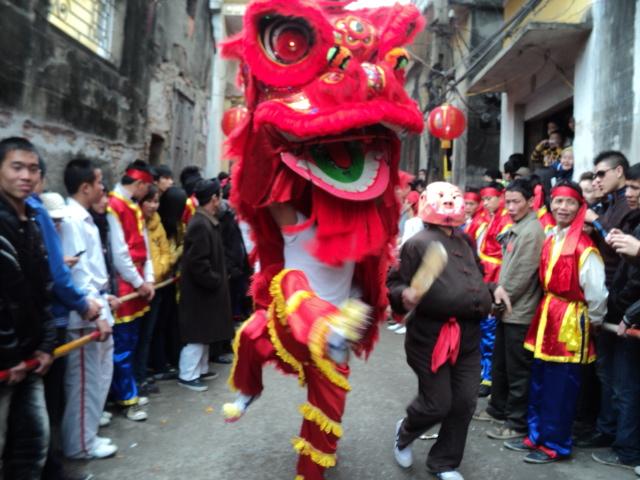 Tưng bừng lễ hội Thổ Hà
