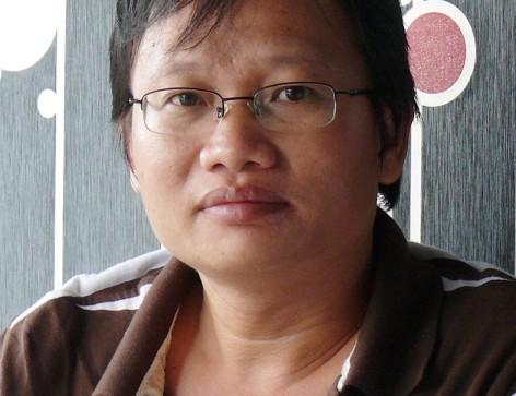 """Nhà văn Trần Nhã Thụy """"kết model"""" thơ Nguyễn Thế Hoàng Linh"""