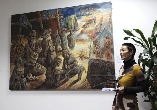Đại sứ quán Đan Mạch quảng bá hội họa Việt Nam