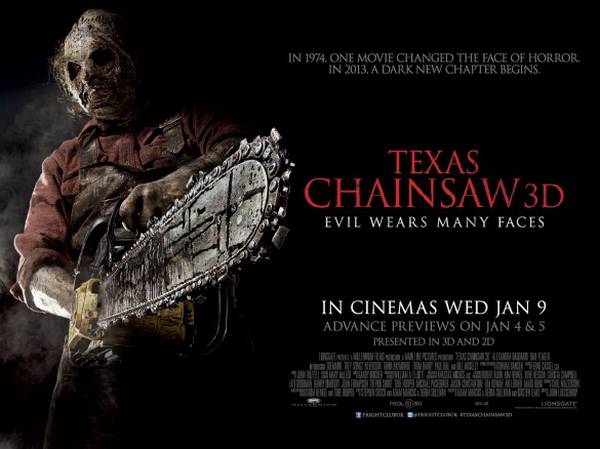 Texas Chainsaw 3D thu hút giới trẻ