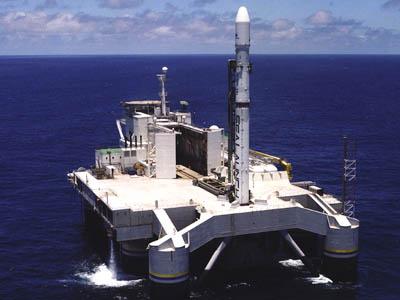 Tên lửa Nga mang vệ tinh rơi xuống Thái Bình Dương