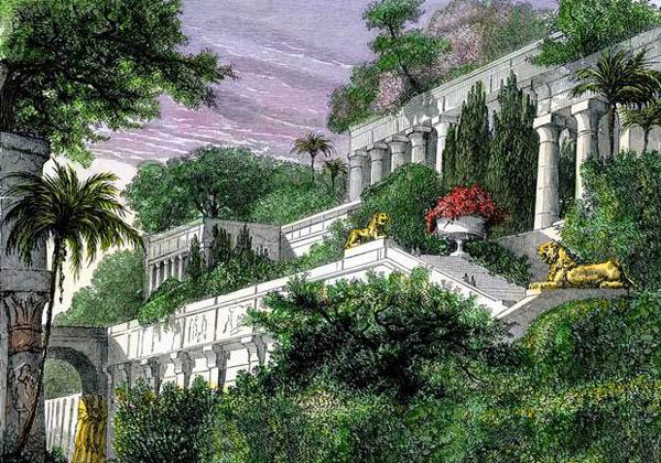 Kỳ quan Vườn treo không nằm ở Babylon