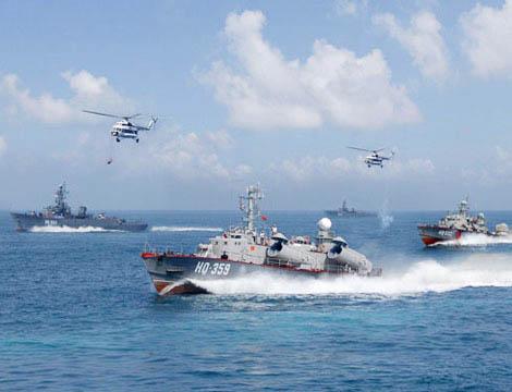 VIDEO: Hải quân đánh bộ - Không quân Việt Nam huấn luyện hiệp đồng đổ bộ