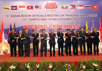 Khai mạc Hội nghị cấp cao ASEAN về phòng, chống tội phạm xuyên quốc gia