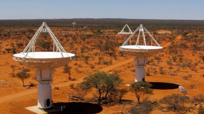 Kính thiên văn MWA của Australia bắt đầu quan sát vũ trụ