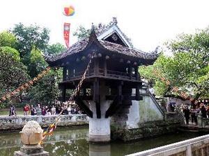Hà Nội: Sẽ xây dựng mới nhà Tăng tại chùa Một Cột