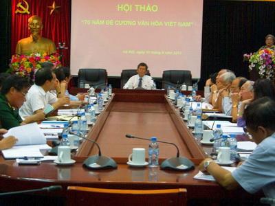 70 năm 'Đề cương Văn hóa Việt Nam': Động lực và mục tiêu của sự phát triển