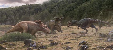 Hình ảnh 3D tuyệt đẹp về thế giới khủng long