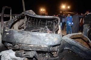 Nổ lớn tại trụ sở cảnh sát Ai Cập, hơn 100 người thương vong