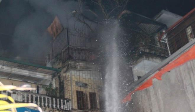 Lại cháy trong khu tập thể Nam Đồng, Hà Nội