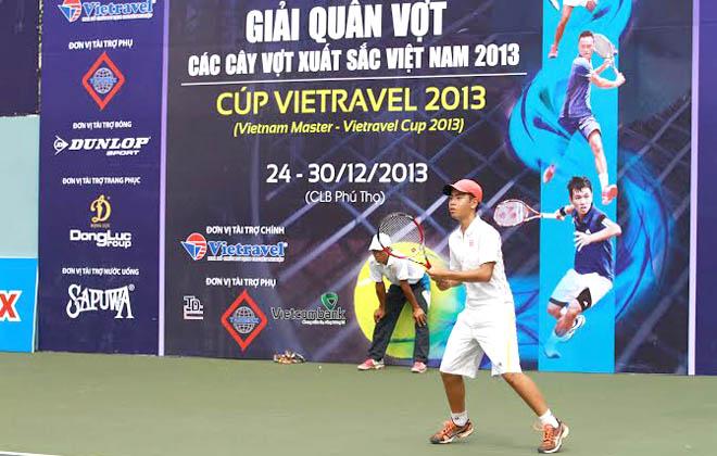 Giải quần vợt các tay vợt xuất sắc toàn quốc 2013: Đắc Tiến không thể gây bất ngờ