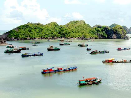 Quần đảo Cát Bà được xếp hạng di tích quốc gia đặc biệt và phủ sóng wifi