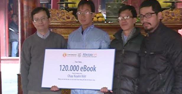 Chạy xuyên Việt để nâng cao văn hóa đọc