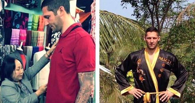 Marco Materazzi đã đón năm mới ở Việt Nam