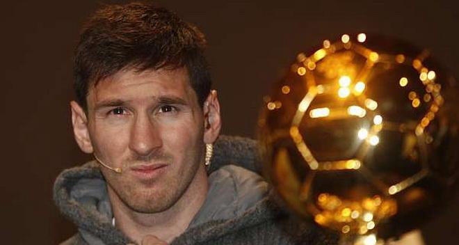 Messi dẫn đầu đoàn Barca tới dự Gala bóng Vàng