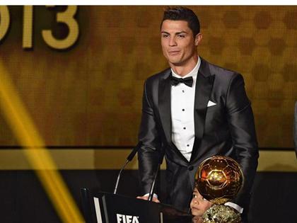Quả bóng Vàng cho Ronaldo Kim cương!