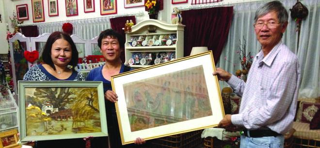 Tranh Việt 'hồi hương' và 'tha hương'