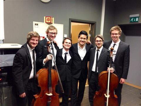 Violinist Bùi Công Duy đón Tết tại phòng hòa nhạc bậc nhất châu Âu