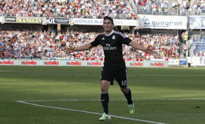 Granada 0-4 Real Madrid: James Rodriguez lập cú đúp, Real nối dài mạch thắng
