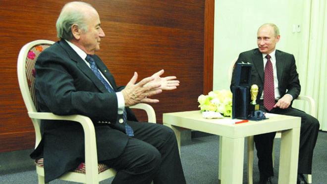 Bầu chọn của Forbes: Sepp Blatter quyền lực nhất thế giới thể thao