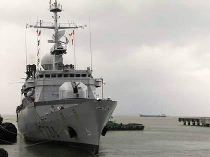 Hình ảnh: Tàu Hải quân Pháp thăm Việt Nam