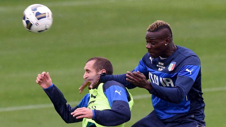 Balotelli bị loại khỏi tuyển Italy
