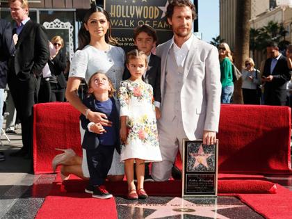 Matthew McConaughey bất tử trên Đại lộ Danh vọng Hollywood
