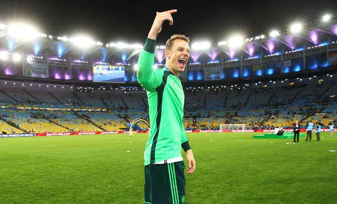 Bầu chọn Quả bóng Vàng 2014: Sẽ chẳng có cơ hội cho Neuer đâu!