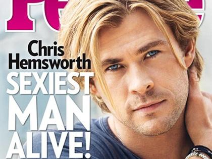 Chris Hemsworth là người đàn ông quyến rũ nhất năm