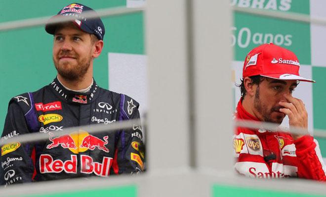 Ferrari chính thức thông báo chia tay Alonso, ra mắt Vettel