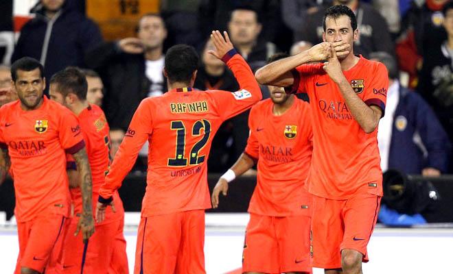 Barca chiến thắng đầy âu lo