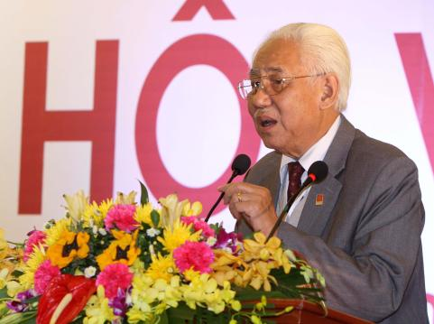 Ông Trần Khánh Chương tái đắc cử Chủ tịch Hội Mỹ thuật Việt Nam