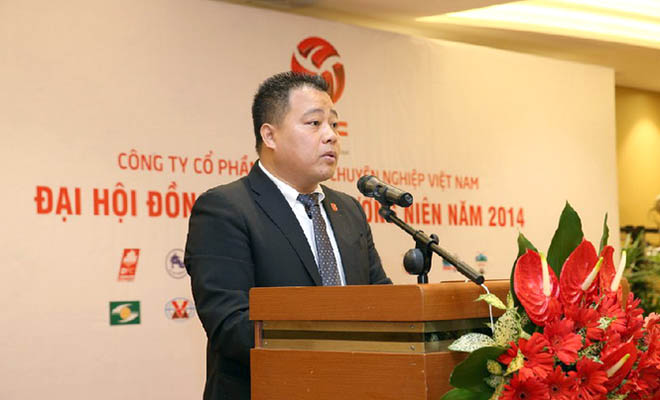 V-League 2015 có trưởng BTC giải người Việt