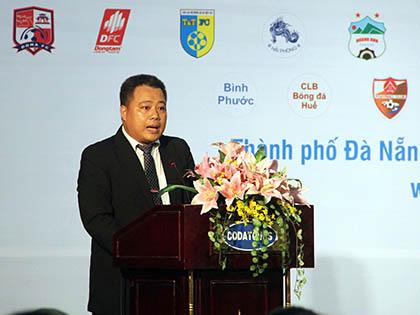 Tân trưởng BTC giải Nguyễn Minh Ngọc: 'Tôi sẽ hoàn thành nhiệm vụ'