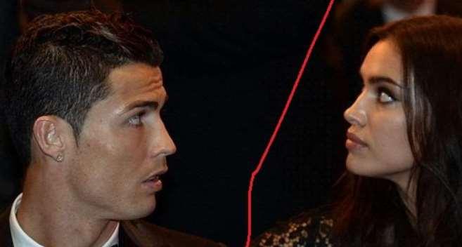 Mâu thuẫn 'mẹ chồng nàng dâu', Ronaldo chia tay siêu mẫu Irina?