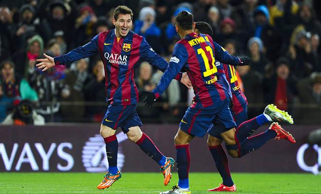 Messi tỏa sáng, Barca chiến thắng: Hãy chờ đấy, Ronaldo…