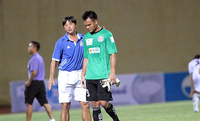 Cựu thủ môn ĐTQG Thanh Bình 5 trận ngồi ghế dự bị