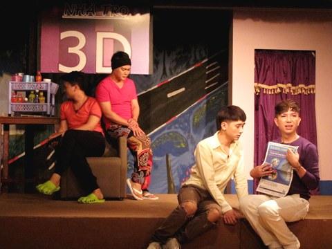'Xóm trọ 3D' - Dấu ấn mới của kịch đồng tính