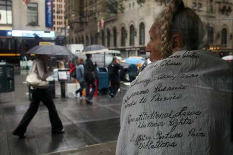 New York báo động tình trạng vô gia cư