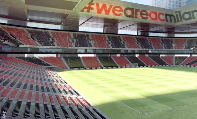AC Milan chính thức công bố kế hoạch xây SVĐ mới