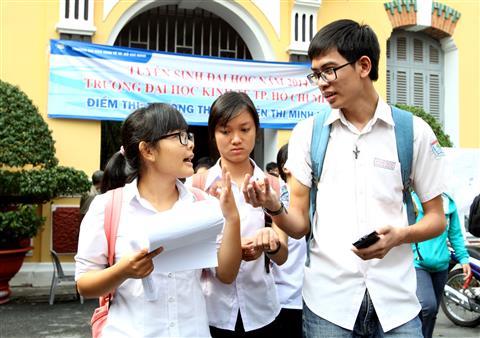 Quy chế tuyển sinh ĐH, CĐ chính thức năm 2015