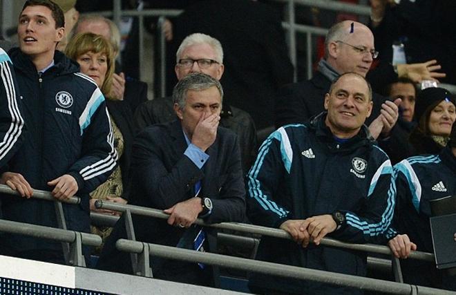 15 sắc thái của Jose Mourinho trong trận Chung kết Cúp Liên đoàn Anh