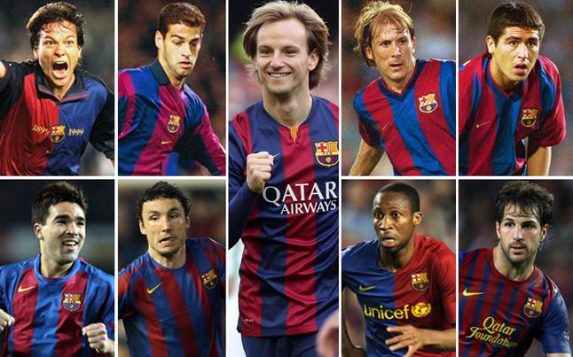 Hàng tiền vệ Barca: Rakitic chỉ kém Deco, Fabregas