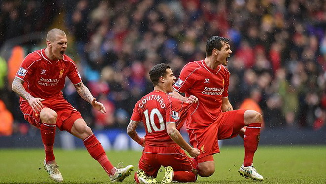 Liverpool có phong độ cao thứ 2 Châu Âu trong năm 2015